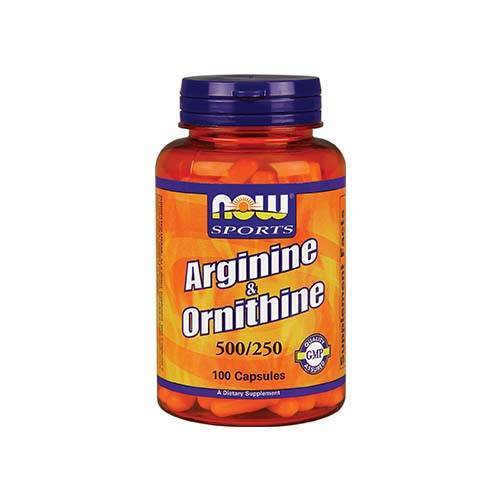 Now Arginin in Ornitin (100 kaps)