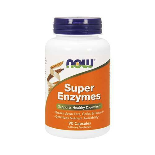 Now Super Enzymes*  (90 kaps)