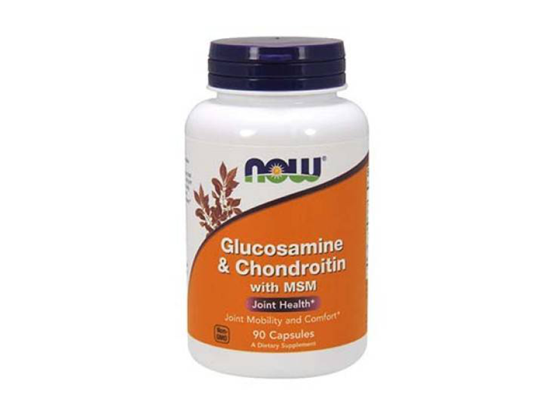Now Glucosamin & Chondroitin & MSM* (90 caps.)