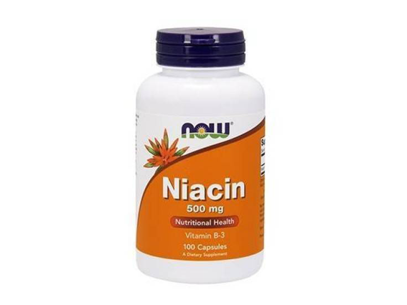 Now Niacin 500mg (100 caps.)
