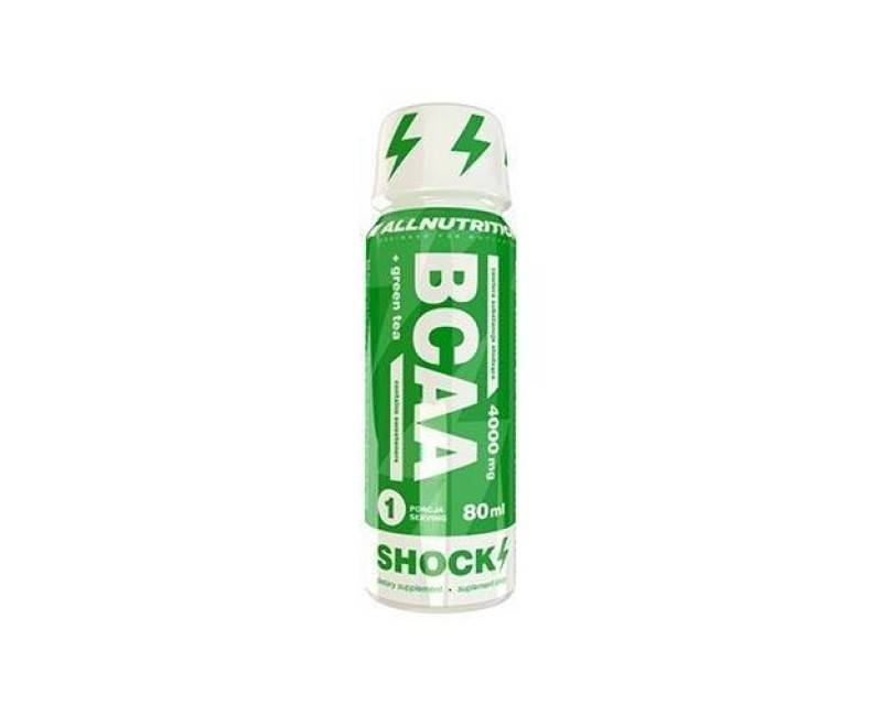 Allnutrition BCAA + Green Tea Shock Shot (rok.up. 6/2019)* (80 ml)