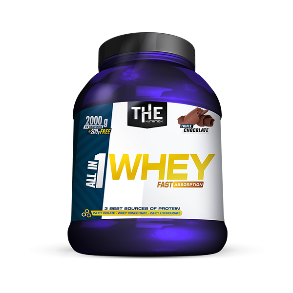 All in 1 WHEY (2000g + 200g FREE)