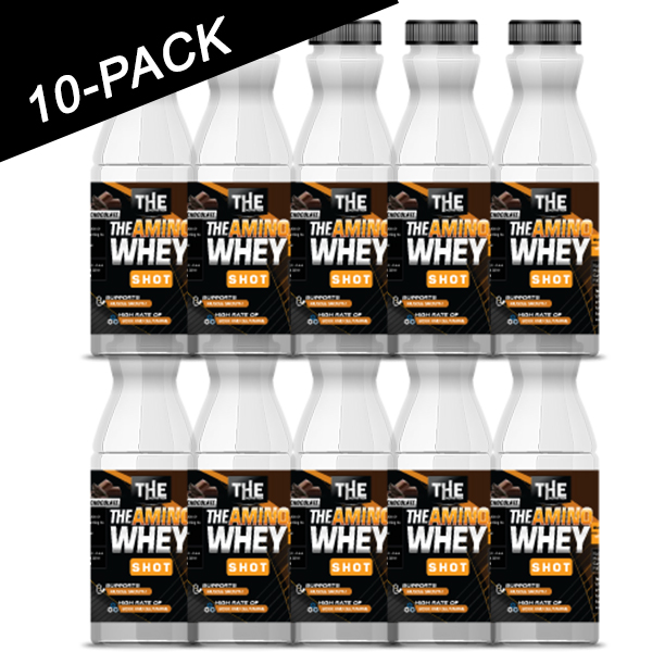 THE Amino Whey Shot 10-PACK