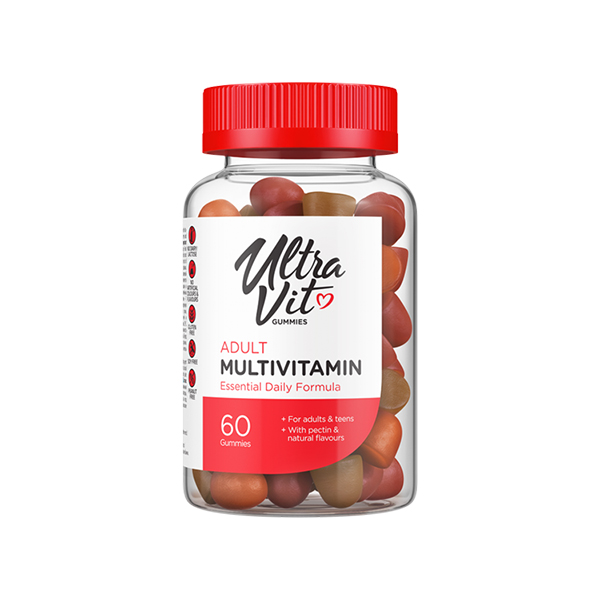 ULTRAVIT Gummies Adult Multivitamin (60 gumijev)