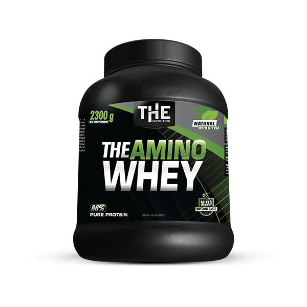 THE Amino Whey Natural s Stevio	 (2300 g)