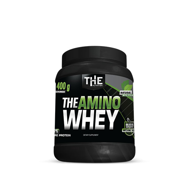 THE Amino Whey Natural s Stevio* (400 g)