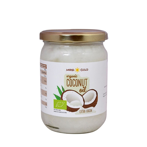 MAYA GOLD Organic Extra Virgin Coconut Oil (500ml)