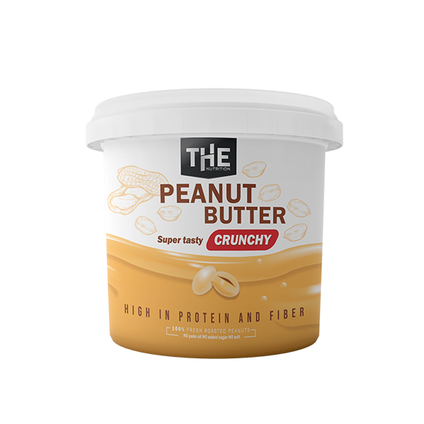 THE Peanut Butter Crunchy - NOVO! (1000 g)