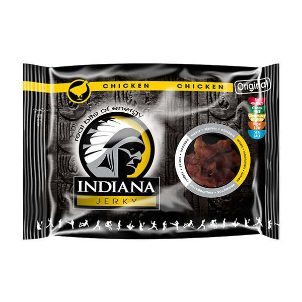 Indiana Jerky Chicken (piščanec) - original (100 g)
