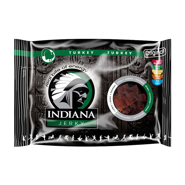 Indiana Jerky Turkey (puran) - original (100 g)