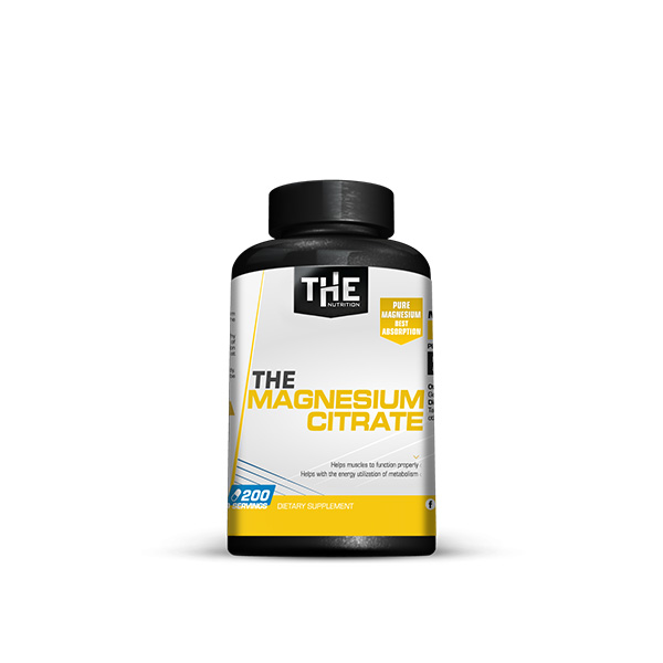 THE Magnesium Citrate (200 kaps.)