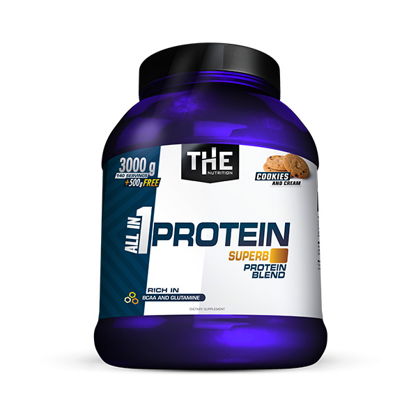 All in 1 PROTEIN (3000g + 500g FREE)