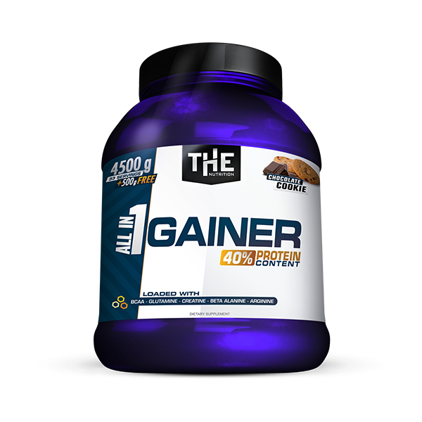 All in 1 GAINER (4500g + 500g FREE)