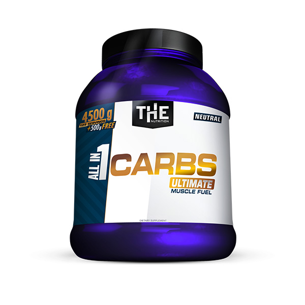 All in 1 CARBS (4500g + 500g FREE)