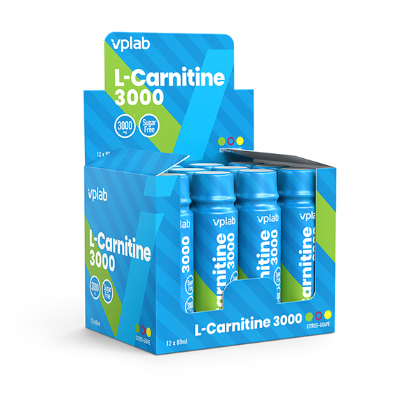 VPLAB L-Carnitine 3000 Shot (80ml)