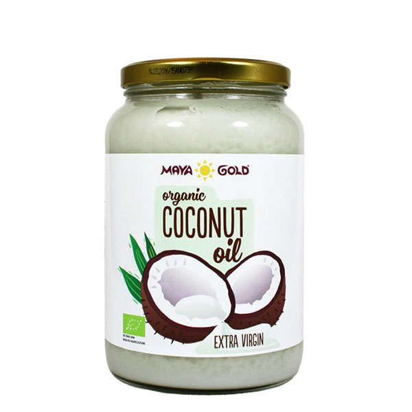 MAYA GOLD Organic Extra Virgin Coconut Oil (exp.date 11/2019) (1400 g)