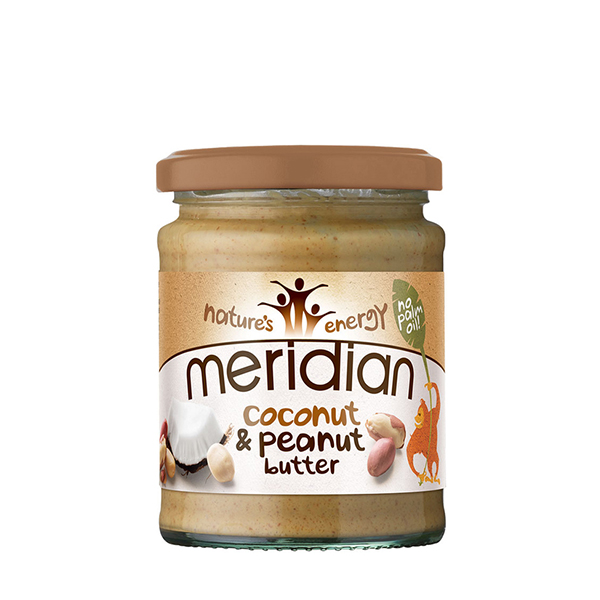 MERIDIAN Natural Peanut & Coconut butter Smooth* (rok up.:10/2019) (280 g)