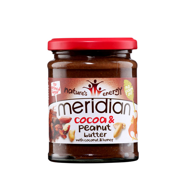 MERIDIAN Peanut & Cocoa butter (rok up.:11/2019) (280 g)