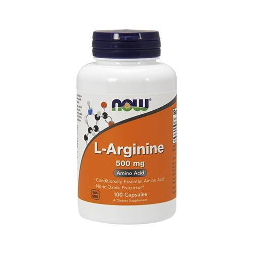Now L-Arginine 500 mg (100 caps.)