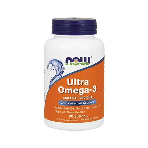 Now Ultra Omega 3*  (90 kaps)