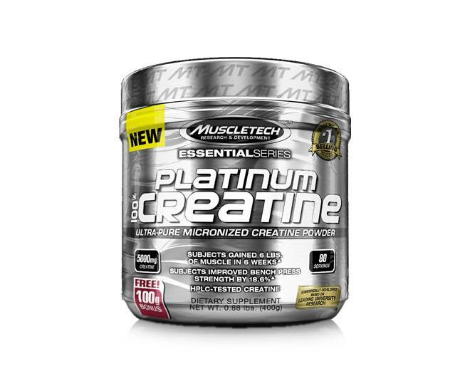 Muscletech Platinum 100% Creatine  (400 g)